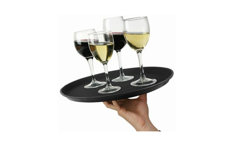 Non Slip Serving Tray