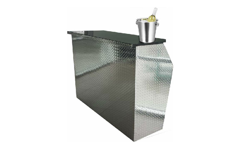 Folding drinks bar