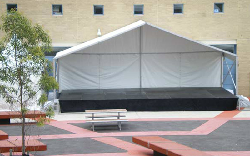 10x3m Stage and Cover Corporate Christmas Party