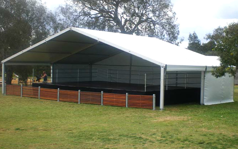 5 metres Hoecker Stage Cover